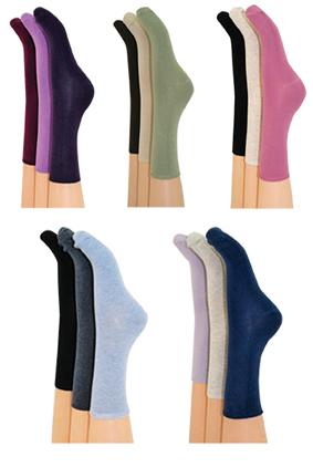 3pp Comfort Top Plain Sock